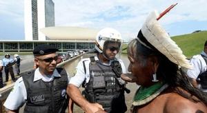 شرطة البرازيل تمنع ا