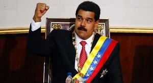 الرئيس الفنزويلي يطر