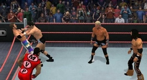 لعبة Smackdown vs Ra