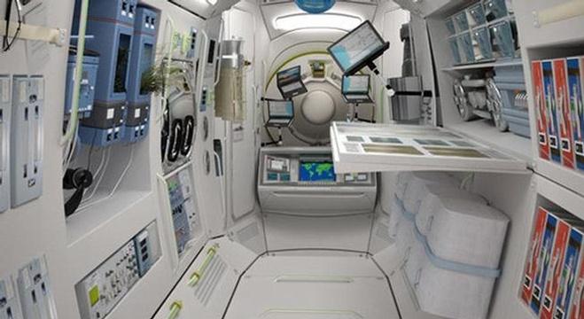 أول فندق فضائي سياحي يستقبل الزوار العام القادم