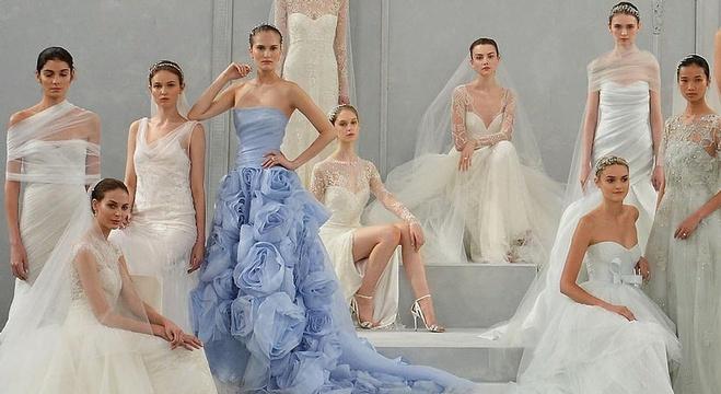669c73ba2268b في استعراض لما قدمه المصممون من ثياب سهرة في أسابيع الموضة الأربعة    نيويورك ولندن وميلان وباريس