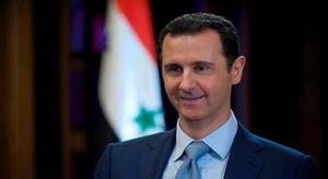 الأسد يبعث رسالة إلى
