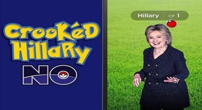 حمى بوكيمون ينتقل إلى السباق الرئاسي الأمريكي