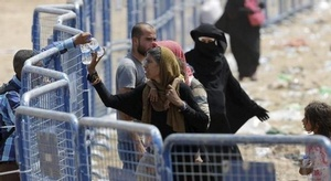لاجئون من سوريا ينقل