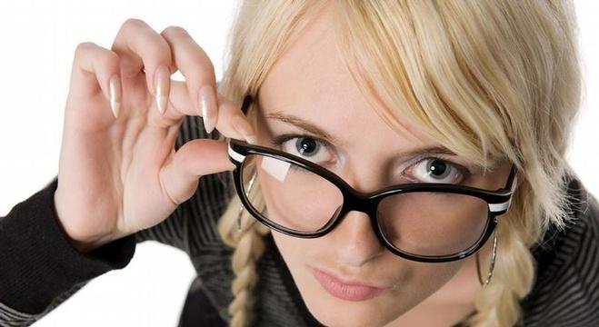 عيون سليمة وحاسة بصر قوية