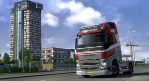 لعبة Euro Truck Simu