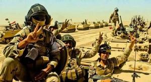 إعلان تحرير الموصل ب