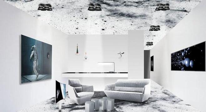 جناح في فندق سويسري صمم على شكل محطة فضائية