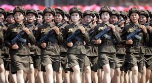 مجندات كوريا الشمالي