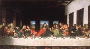 المسيح وسر العشاء ال