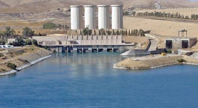 انهيار سد الموصل