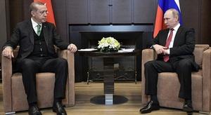 بوتين وأردوغان يناقش