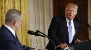 ترامب: حل الصراع الف