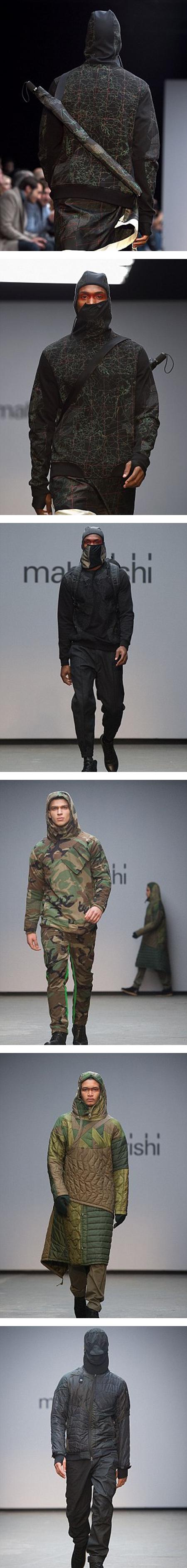 أزياء لملابس شبيهة بثياب داعش