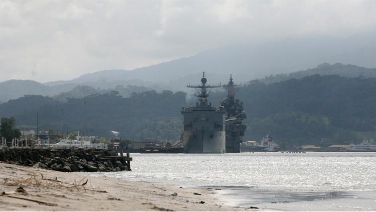 قاعدة عسكرية بحرية امريكية في الفلبين
