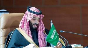 ولي العهد السعودي يع
