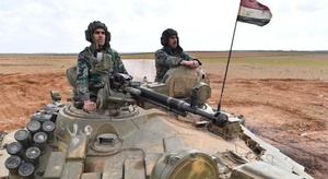 الجيش السوري يقرع ال