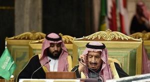العاهل السعودي وولي