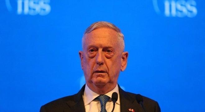 وزير الدفاع الأمريكي، جيمس ماتيس