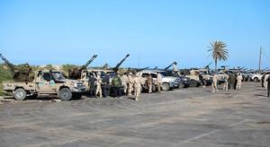 الجيش الليبي: مقتل 1