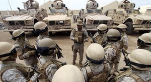 مقتل 5 عسكريين سعودي