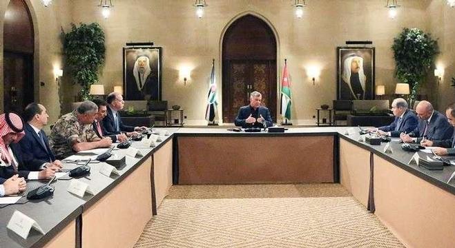 الملك الأردني عبد الله الثاني يترأس اجتماعا لمجلس السياسيات الوطني