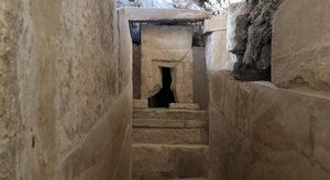 داخل الكشف الأثري ال