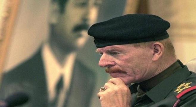 خطاب-عزة-الدوري،-نائب-الرئيس-العراقي-الراحل-صدام-حسين