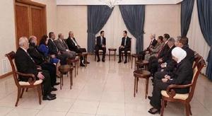 الأسد: مشاكل العرب و