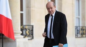 وزير الخارجية الفرنس