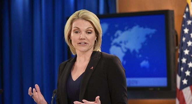 المتحدثة باسم وزارة الخارجية الأمريكية هيذر نويرت