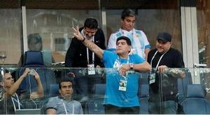 مارادونا: أنا فلسطين
