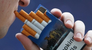 تحذير على كل سيجارة