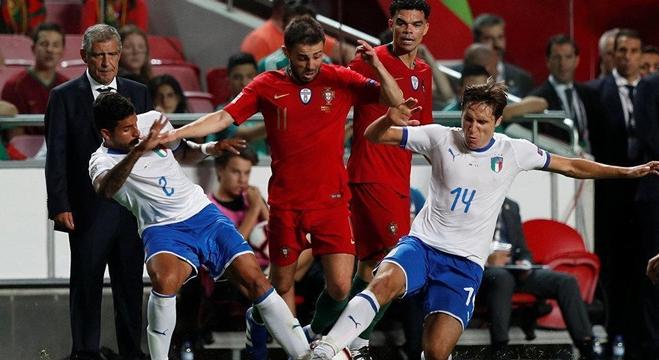 مباراة إيطاليا والبرتغال