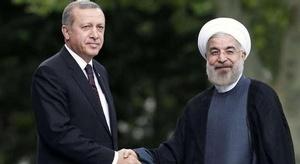 أردوغان يلتقي روحاني