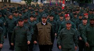 مادورو: التدريبات ال