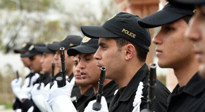 قوات الحرس الوطني التونسية