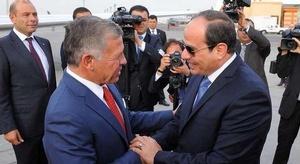 الرئيس المصري يبحث م