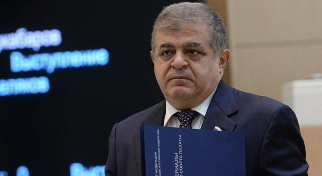النائب الأول لرئيس لجنة الشؤون الدولية بمجلس الاتحاد الروسي، فلاديمير جباروف