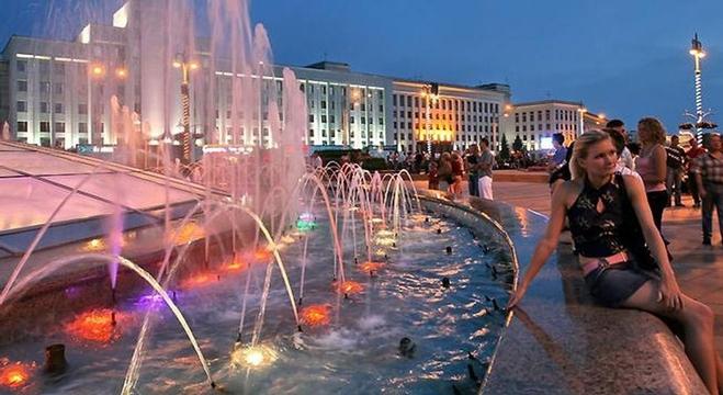 مدينة مينسك، عاصمة بيلاروسيا