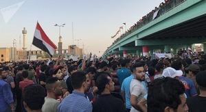 آلاف العراقيين يطالب