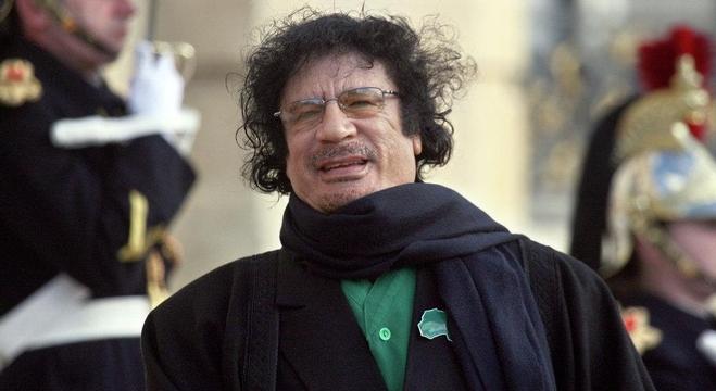 الزعيم الليبي الراحل، العقيد معمر القذافي