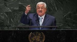 عباس: تستطيع إسرائيل