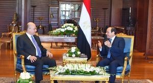 الرئيسان المصري والع